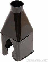 Keine-Kurbelmühle Flasche Buddy Hüpftier, 50 mm Kapazität, stabiler, flexiblem Kunststoff Trichter. Wird auf 20 - 50mm Flaschenhälse, Wasser Netzbetreiber, Dosen Öl, Schaumpistolenreiniger etc, jerry auch für den Gebrauch im Haus oder im Garten. Größe: 95 x 40 x 40 mm.