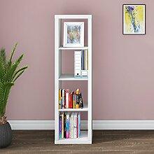 Keinode Bücherregal aus Holz Leiter Bücherregal