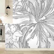 KEK Amsterdam Engraved Flowers II Tapete