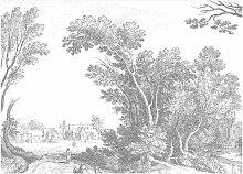 KEK Amsterdam Engraved Landscapes V Tapete (8 Bahnen)