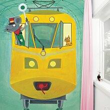 KEK Amsterdam Little Train Driver Tapete (b) 194.8