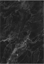 KEK Amsterdam Marble Black Grey Tapete (4 Bahnen)