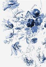 KEK Amsterdam Royal Blue Flowers III Tapete (4