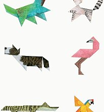KEK Amsterdam Tangram Tapete Animals (l) 280 X (b)