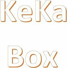 KeKaBox Küchenregal mit Handtuchstange, aus