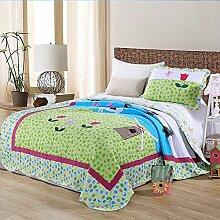 KekeHouse Kinder Überwurf Decke Tagesdecke