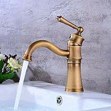 KEKEYANG Badezimmer-Waschbecken-Mischbatterie für