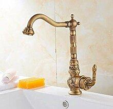 KEKEYANG Badezimmer-Waschbecken-Wasserhahn,