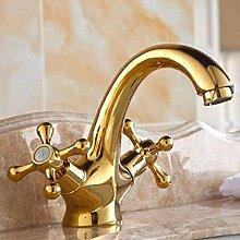 KEKEYANG Badezimmer-Waschmaschinen-Wasserhahn,
