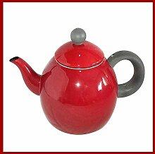 KEKEYANG Kaffee-Tee-Sets, Teekannen, emailliert,