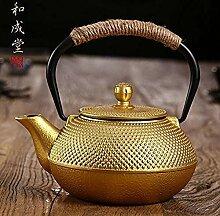 KEKEYANG Kaffee Teekannen Teeservice Gusseisen