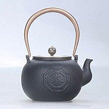 KEKEYANG Kaffee Teekannen Teesets Gusseisen