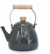 KEKEYANG Kaffee-Teesets, Teekannen, emailliert,