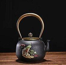 KEKEYANG Kaffee-Teesets Teekannen Gusseisen