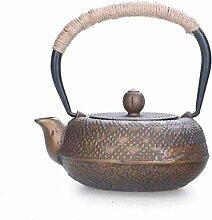 KEKEYANG Kaffee Teesets Teekannen Gusseisen