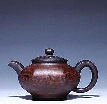 KEKEYANG Kung-Fu-Teekanne, 270 ml, handgefertigt,