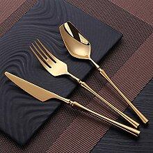 Kekkein Besteck Set Mirror Gold Besteck Set
