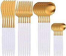 Kekkein SPKLIFEY. Goldbesteck 24 stücke Golden