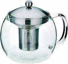 Kela 16922 Teekanne aus Glas mit