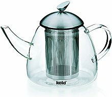 Kela 16941 Teekanne aus Glas mit