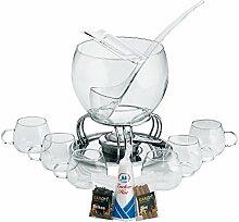 Kela 366160 Glas-Feuerzangenbowle-Set, Heinz
