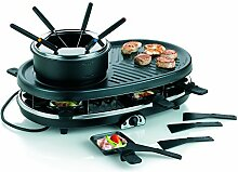 Kela 66664 Raclette-, Grill- und Fondue-Set, Für