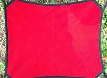 kelaina Langlebig atmungsaktiv mit doppeltem Verwendungszweck Pet Käfig Hängematte Pet Polar Fleece Hängematte (rot)