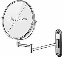 KELE Ausfahrbare Badezimmerspiegel Schminkspiegel,