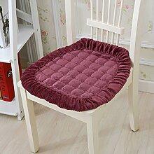 kele Einfache Gepolstert Plüsch Stuhl Pad/Kissen