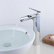 Kelelife Einhebel-Waschtischarmatur,Wasserfall