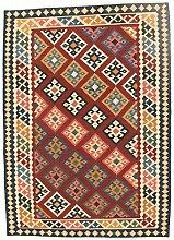 Kelim Fars Teppich Orientalischer Teppich 242x175