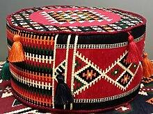 Kelim Hocker ,Orientalischer Hocker, Bodenkissen,Orient-Designs das Original ,Orientalische Sitzecke,Bodenkissen,Orientalische Sitzgruppe,Orient Sitzecke,Yoga Kissen