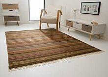 Kelim Palas Teppich Handgewebt aus feinster Wolle