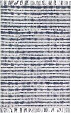 Kelim Teppich Chennai, blau (60/110 cm)