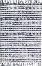 Kelim Teppich Chennai, blau (70/140 cm)