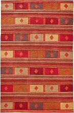 Kelim Teppich Marcia, orange (50/100 cm)