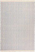 Kelim Teppich Nizza, blau (50/100 cm)