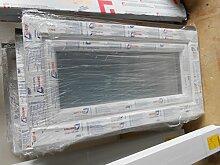 Kellerfenster 90x47 cm breite x höhe ,3fach verglast ,0,6 kW Glas,Drehkipp 70-80 mm Bautiefe