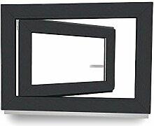 Kellerfenster - Kunststoff - Fenster - anthrazit /