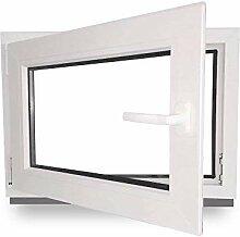 Kellerfenster - Kunststoff - Fenster - weiß -