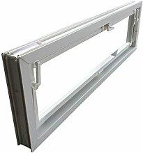Kellerfenster weiß 100 x 30 cm Einfachverglasung