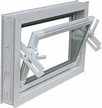 Kellerfenster weiss 70 x 30 cm Isolierverglasung
