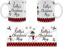 Kelly'Weihnachten Becher, Tasse, Keramik,