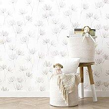 Kenay Home Sweet Wallpaper Tapete, Blumen, 53 x