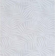 KENAY Home Tapete Palms, Holz, Weiß, 50x 10x