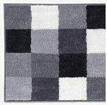 KENBORG Badteppich CHARLIE 70 x 120 cm in Grau