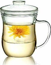 Kendal 10oz Glas Filterung Tee Maker mit-Ei