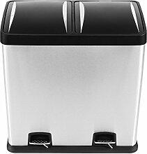 Kendan-Edelstahl 60Liter Touch Recycle
