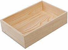 Kentop Holz Ordnungsbox Holzkiste