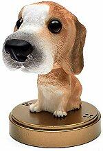 Kentop Wackelkopf Hund Wackelfiguren Wackeldackel